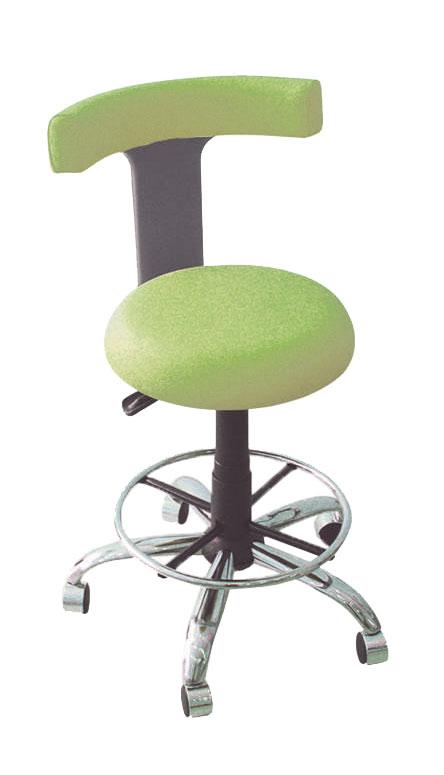 Помощно столче за стоматолога или сестрата TEKMIL с безшевна италианска кожа