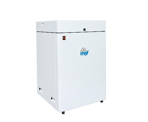 Безмаслен компресор в обезшумителна кутия модел MINI BOX 24/7 PRIME S 85 l./min. обем на ресийвъра 24 л.