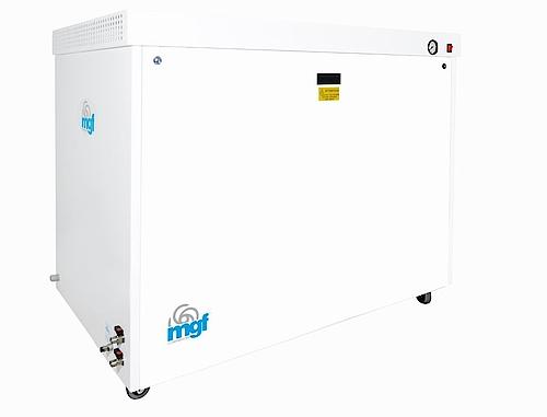 Безмаслен компресор в обезшумителна кутия модел CS 100/30 TANDEM PRIME S temp 340 l./min. обем на ресийвъра 90 л.