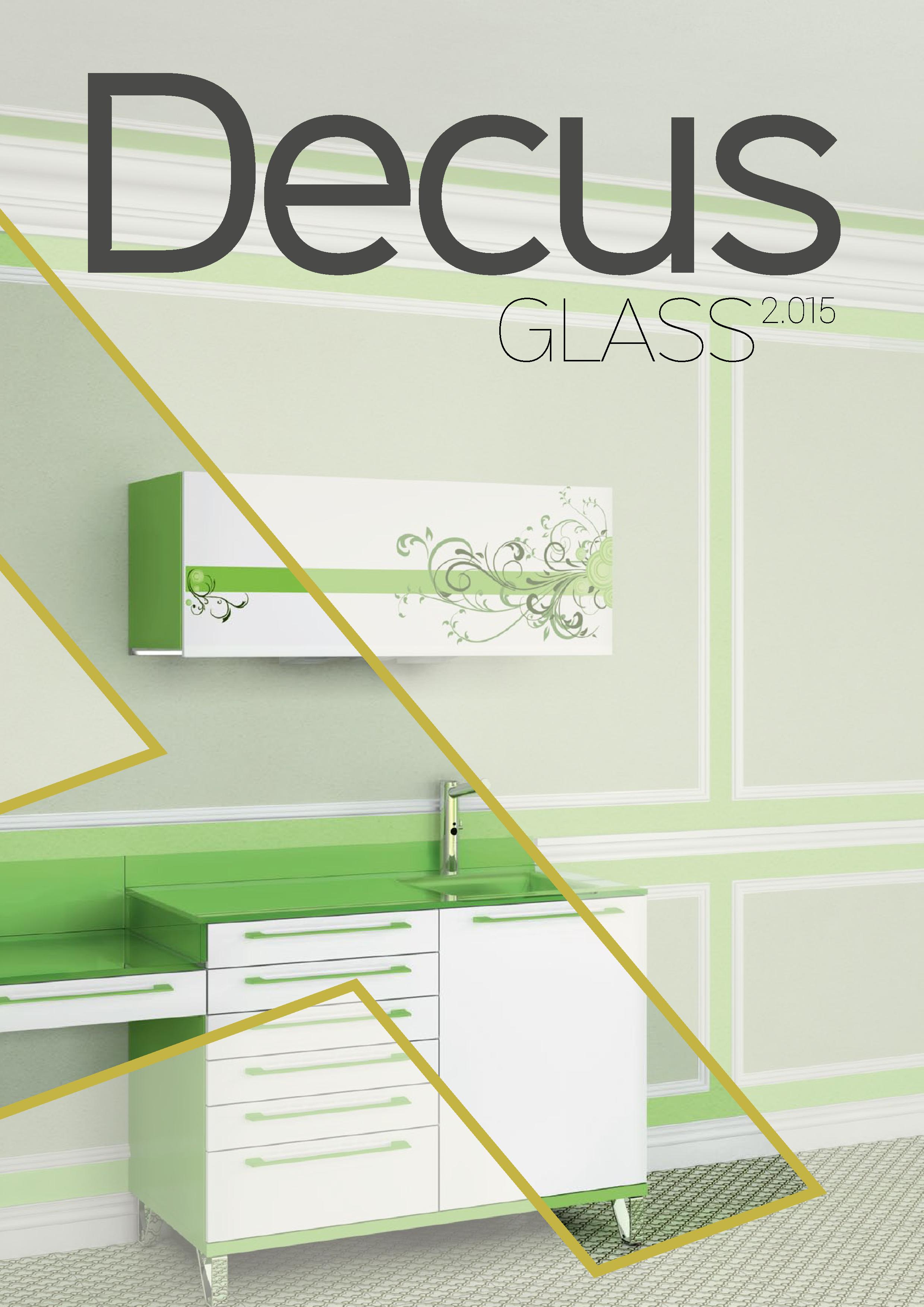 стоматологични мебели Decus Glass
